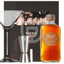 Nikka Pure Malt White Whisky (DD+ Pohár+ Mérce) [0,5L|43%]