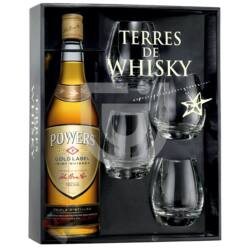Powers 12 Years Gold Label Whisky (DD+4 Pohár) [0,7L|40%]
