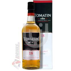 Tomatin 18 Years Whisky [0,7L|46%]