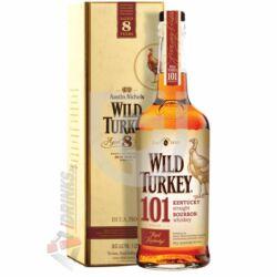 Wild Turkey 101 Proof 8 Years Whisky (DD) [1L|50,5%]
