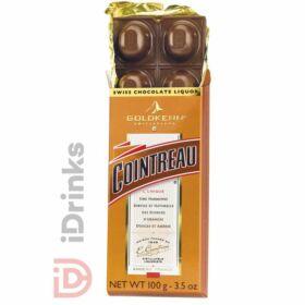 Goldkenn Cointreau Likőrrel Töltött Csokoládé [100g]