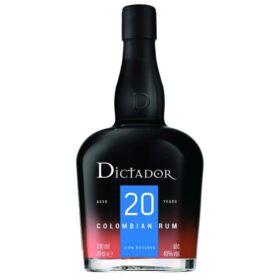 Dictador 20 Years Rum [0,7L|40%]