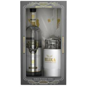 Beluga Vodka (DD+Kaviár tartó) [0,7L|40%]