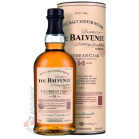 Balvenie 14 Years Caribbean Cask Whisky [0,7L 43%]