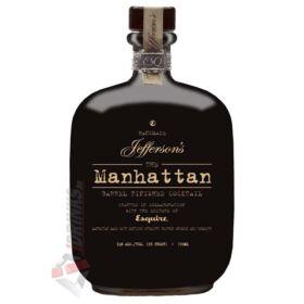Jeffersons Manhattan Whiskey Cocktail [0,75L|34%]
