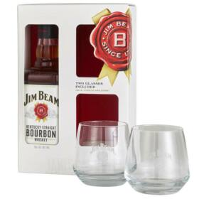 Jim Beam Whiskey (DD+Pohár) [0,7L|40%]