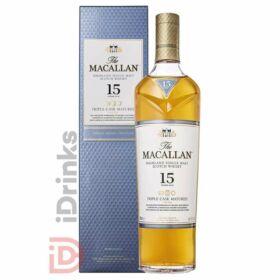 Macallan 15 Years Triple Cask Whisky [0,7L|43%]