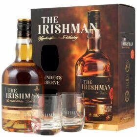 The Irishman Founders Reserve Whiskey (DD+2 Pohár) [0,7L|40%]