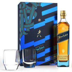 Johnnie Walker Blue Label Whisky (DD+2 Pohár) [0,7L|40%]