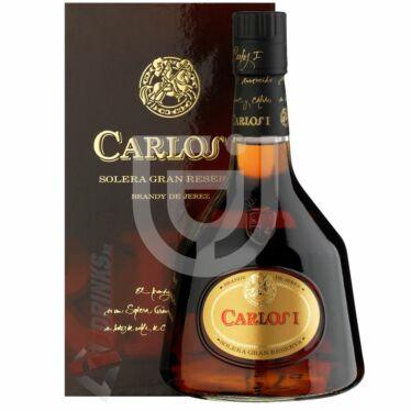 Carlos I. Solera Gran Reserva Brandy [0,7L|38%]