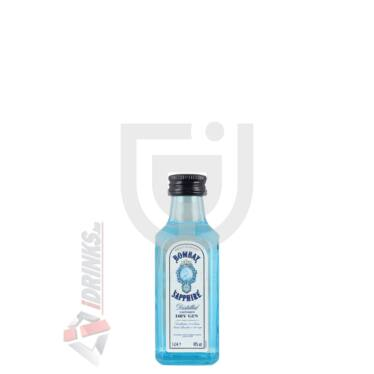 "Bombay Sapphire ""Strong"" Gin Mini [0,05L