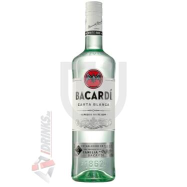 Bacardi Carta Blanca Superior Rum [1L 37,5%]
