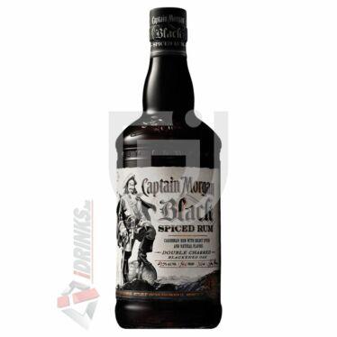 Captain Morgan Black Spiced Rum [1L|40%]