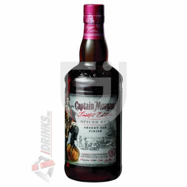 Captain Morgan Spiced Sherry Oak Finish Rum [0,7L|35%]