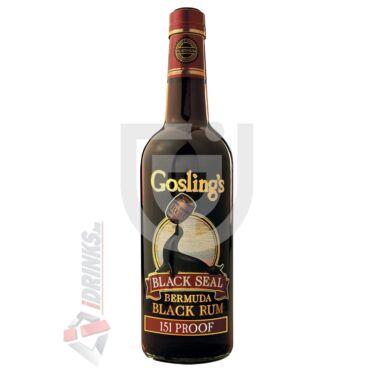Gosling's Black Seal 151 Proof Rum [0,7L|75,5%]