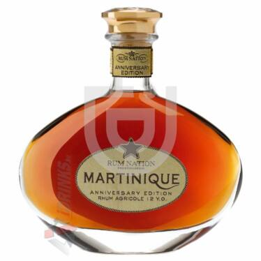 Rum Nation Martinique Anniversary Edition 12 Years Rum [0,7L|40%]