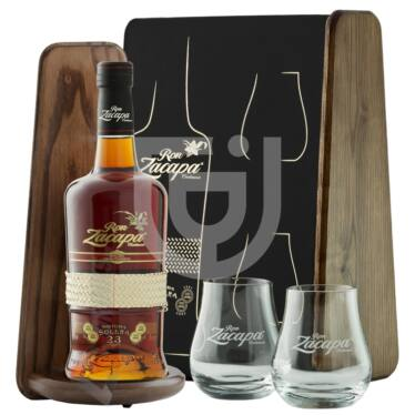 Zacapa Centenario 23 Years Rum (FDD + 2 Pohár) [0,7L|40%]