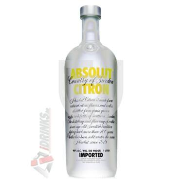 Absolut Citron /Citrom/ Vodka [0,7L|40%]