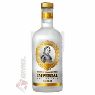 Russian Carskaja Imperial Gold Vodka [1L|40%]