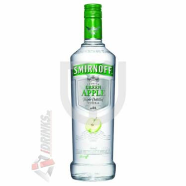 Smirnoff Green Apple /Zöldalma/ Vodka  [1L|37,5%]