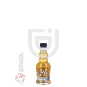 Old Pulteney 12 Years Whisky Mini [0,05L|40%]