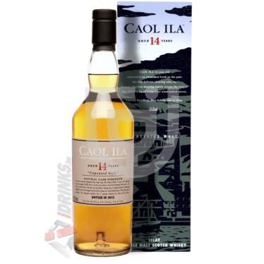 Caol Ila 14 Years Natural Cask Strength Whisky [0,7L 59,3%]