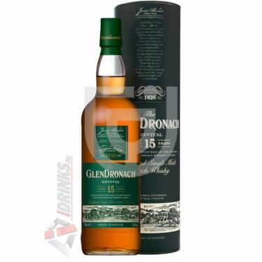 GlenDronach 15 Years Revival Whisky (DD) [0,7L|46%]