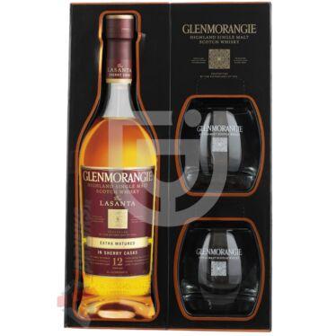 Glenmorangie Lasanta Whisky (DD+2 Pohár) [0,7L 46%]