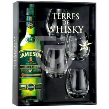 Jameson 18 Years Whisky (DD+4 Pohár) [0,7L|40%]