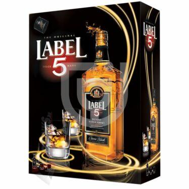 Label 5 Whisky (DD+2 Pohár) [0,7L|40%]