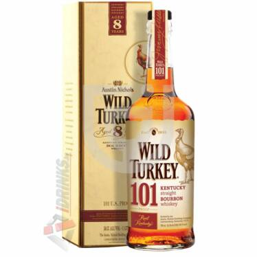 Wild Turkey 101 Proof Whisky (DD) [1L|50,5%]