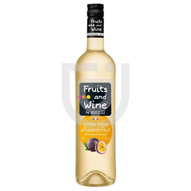 Fruits And Wine Fehérbor Passion Fruit 075l7 Idrinkshu
