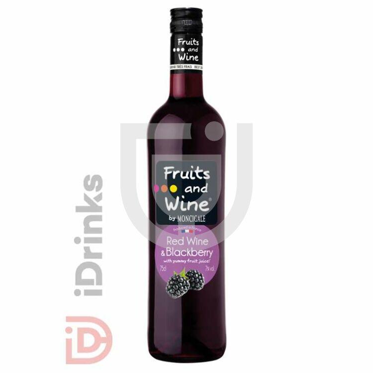 Fruits and Wine - Vörösbor & Feketeszeder [0,75L|7%]