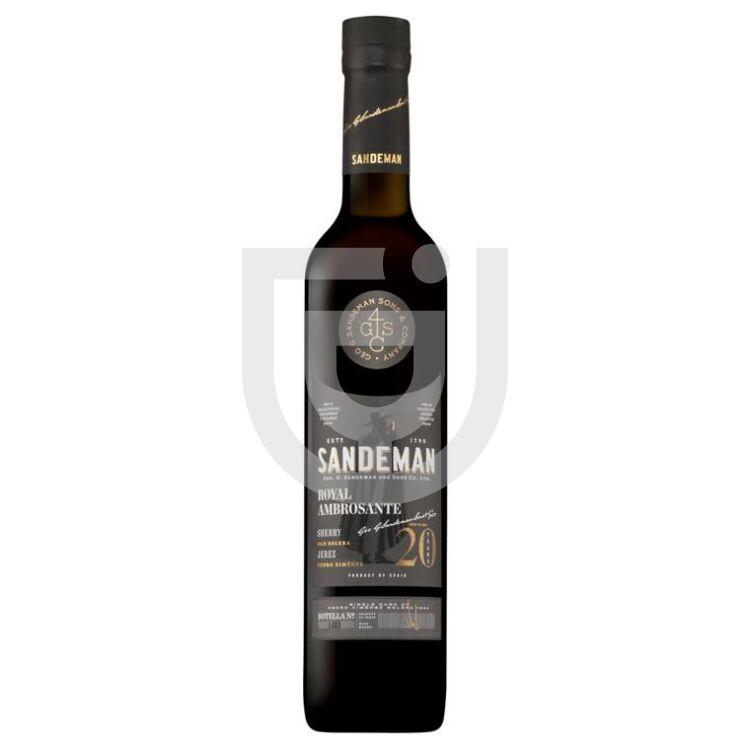 Sandeman Sherry 20 Years Royal Ambrosante PX [0,5L 17%]