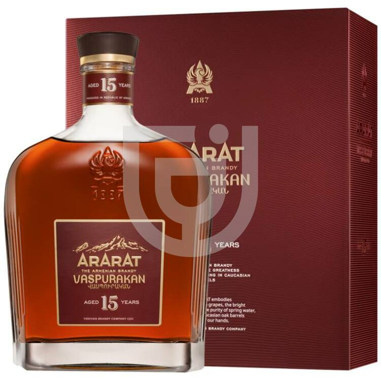 Ararat Vaspurakan 15 Years Brandy [0,7L|40%]