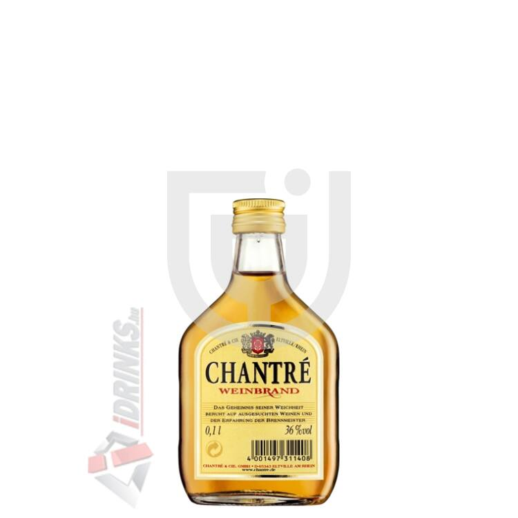Chantre Weinbrand Mini [0,1L|36%]