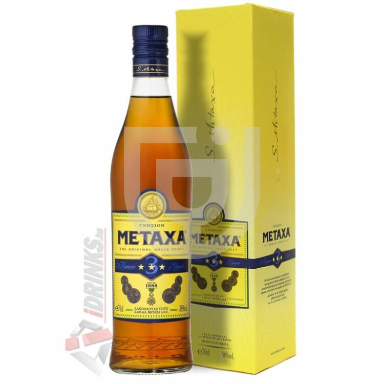 Metaxa 3* (DD) [0,7L|30%]