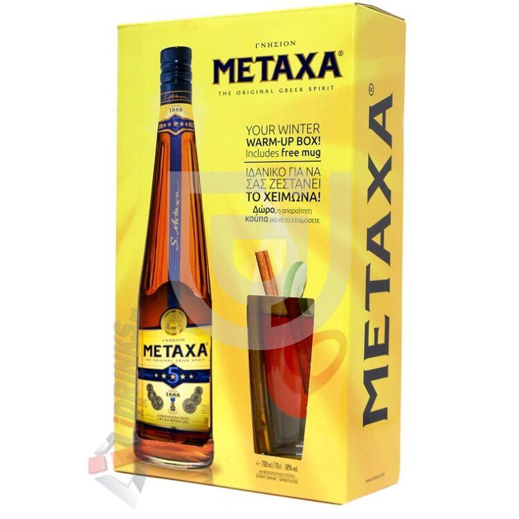 Metaxa 5* (DD+Pohár) [0,7L|38%]