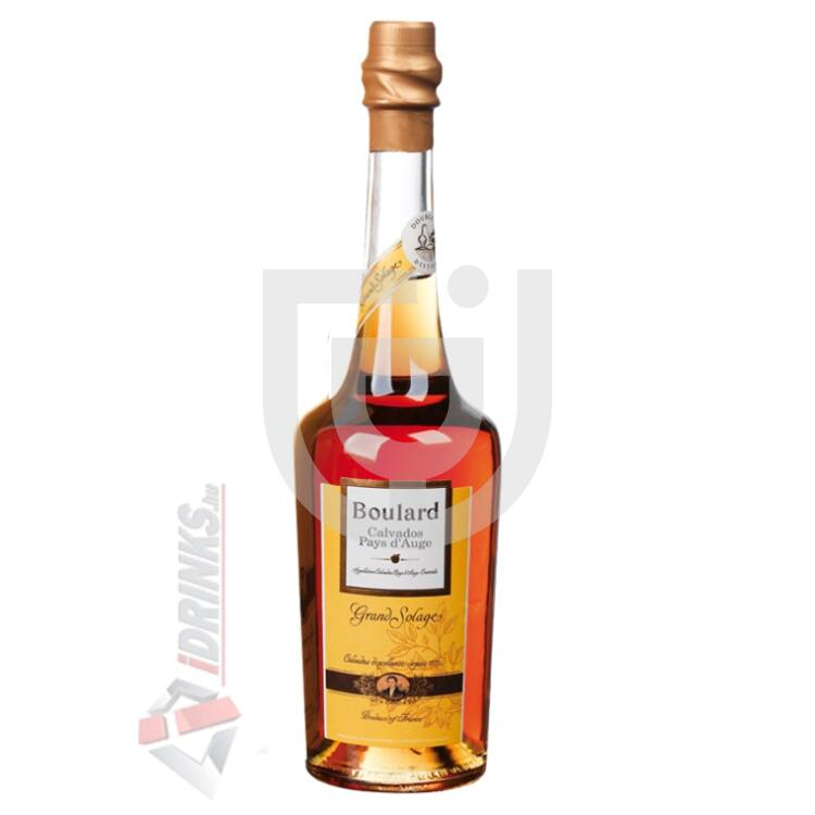 Calvados Boulard Grand Solage [0,5L|40%]