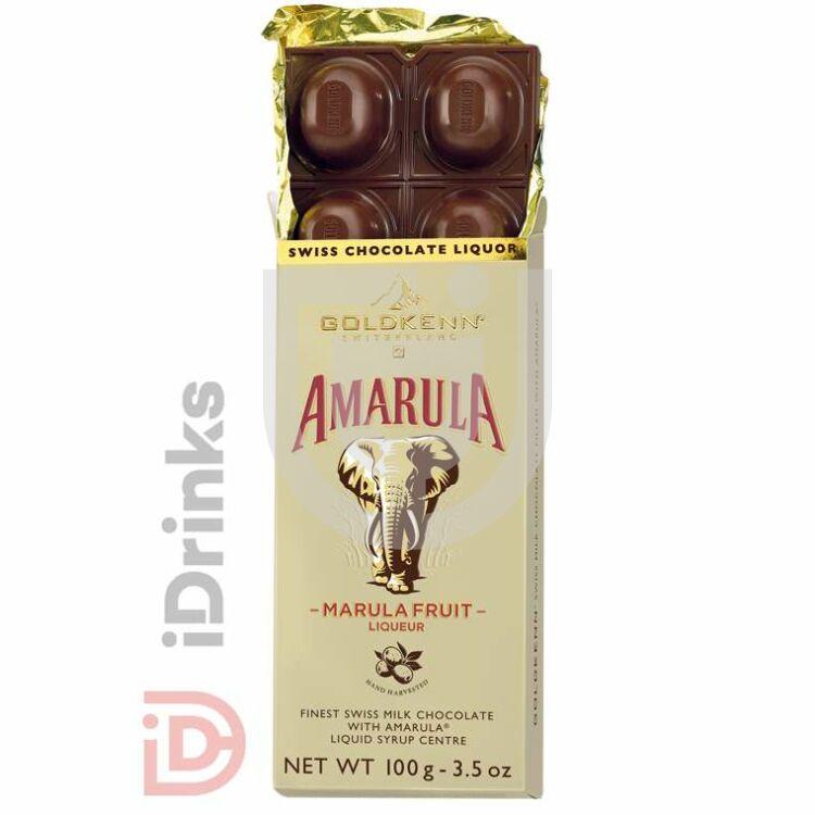 Goldkenn Amarula Likőrrel Töltött Csokoládé [100g]
