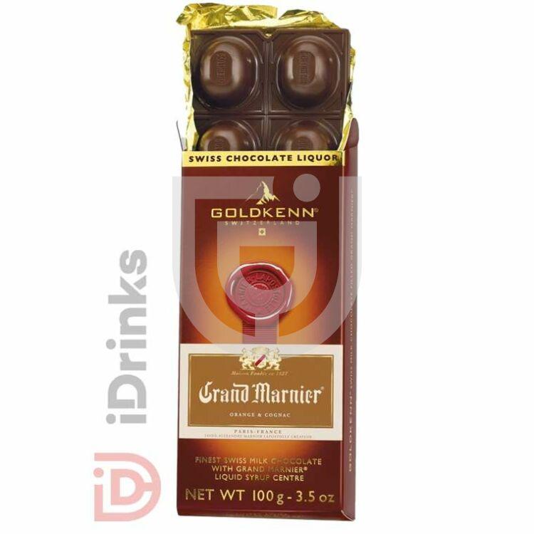Goldkenn Grand Marnier Likőrrel Töltött Csokoládé [100g]