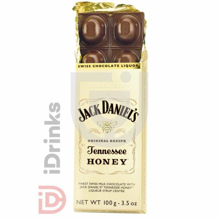 Goldkenn Jack Daniels Honey Whiskey-vel Töltött Csokoládé [100g]