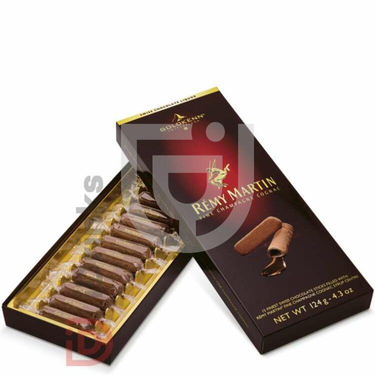 Goldkenn Rémy Martin Cognac-os Csokoládé Pálcikák [124g]