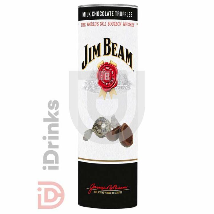 Sarunds Jim Beam Whiskey-s Trüffelkrémmel Töltött Csokoládé Golyó [300g]