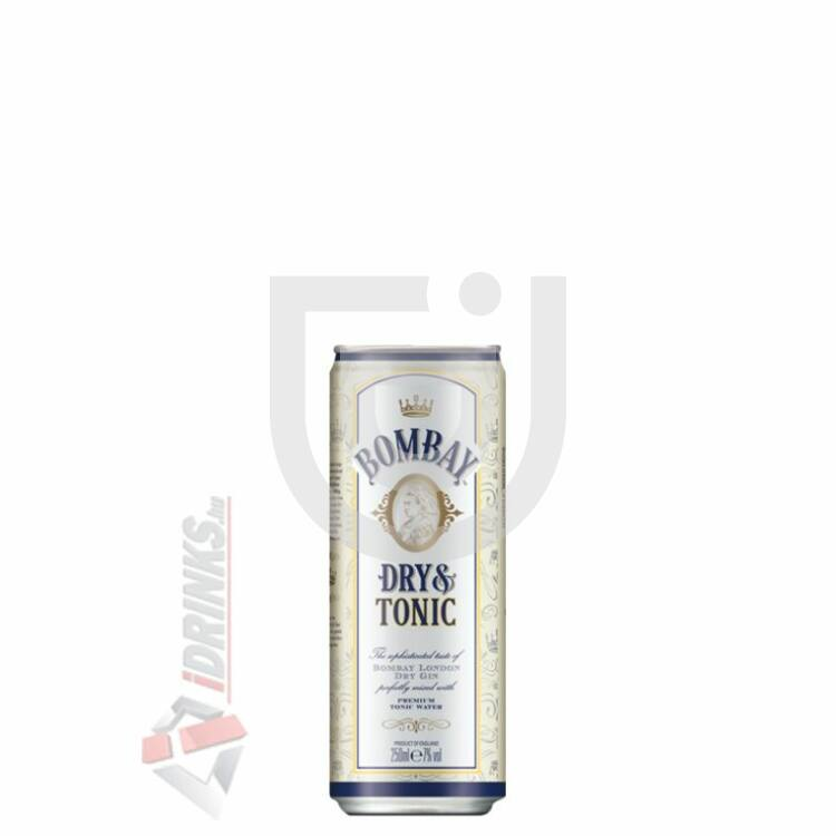 Bombay Dry & Tonic [0,25L 7%]