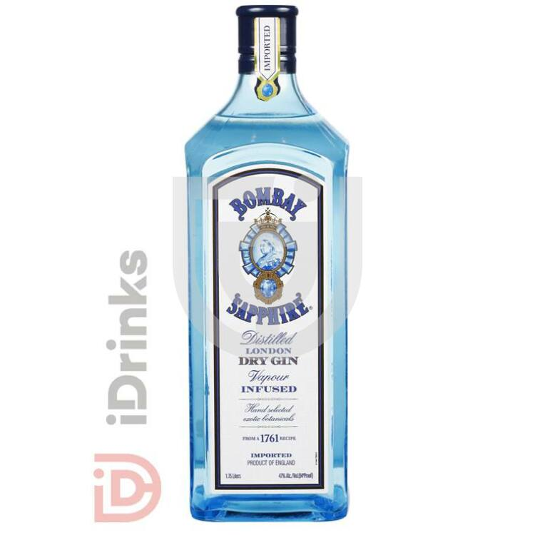 Bombay Sapphire Gin Magnum [1,75L|40%]