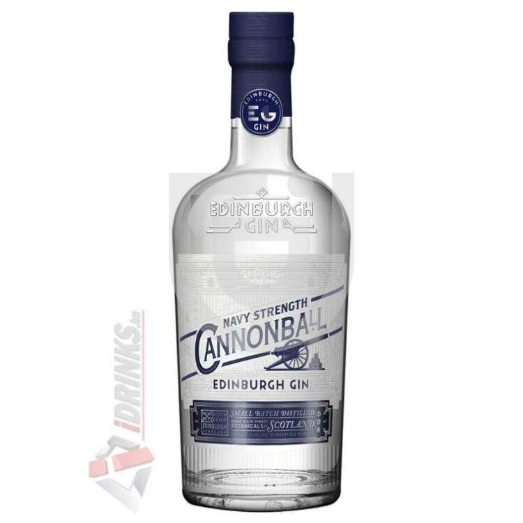 Edinburgh Cannonball Navy Strength Gin [0,7L|57,2%]