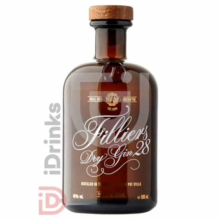 Filliers Original Dry Gin [0,5L 46%]
