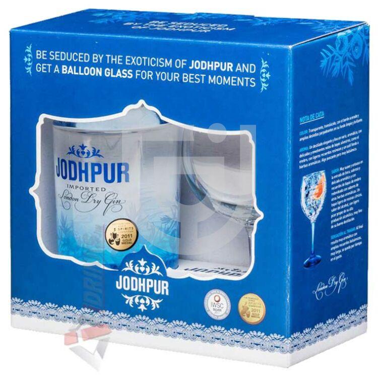 Jodhpur London Dry Gin (DD+Pohár) [0,7L|43%]