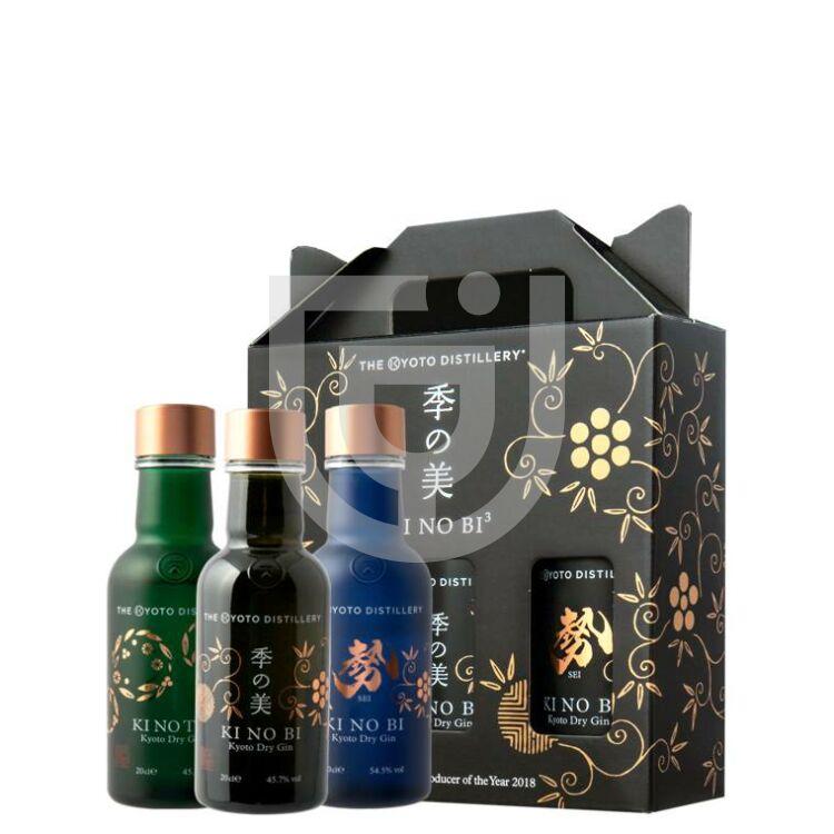 KiNoBi Kyoto Gin Pack [3*0,2L 48,43%]